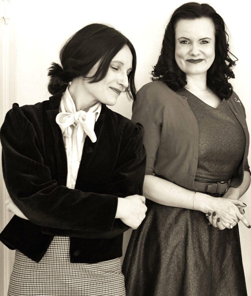 Kristina Holgersen og Leonora Christina Skov. Pressefoto af Annette K. Nielsen